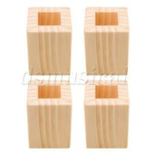 4PCS 5CM Lift Height Furniture Table Lifter Bed Riser for Square Feet