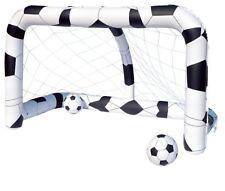 Fußballtor Set, aufblasbar inklusive 2 Bällen 52058