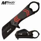 """MTech USA 4.75"""" Assisted Opening 3Cr13 Steel Red Shockwave Pocket Knife NEW"""