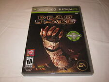 Dead Space (Microsoft Xbox 360) Platinum Hits Game Complete Nr Mint!