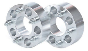 """2 CHEVY WHEEL SPACERS 5X4.75 