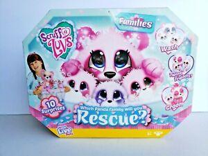 Little Live Pets Scruff-A-Luvs Families - Panda Rescue