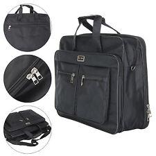 17 Inch Laptop Notebook Backpack Travel Computer Bag  Waterproof  Black UK