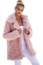 Winter Warm Fluffy Coat Faux Fur Jacket Outerwear Sweater Coat Fashion Women's