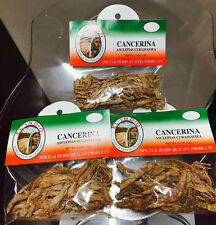 New Mexican Herbs 3 bags 1.2 oz. Cancerina  Hierbas Mexicanas Sellado El Indio