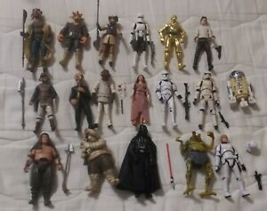 Star wars 3.75 lot loose