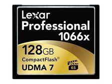 Lexar Professional 128 GB 1066x - CompactFlash I Card - (LCF128CRBNA1066)
