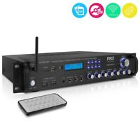 2000W BLUETOOTH HYBRID PRE AMP AMPLIFIER FM STEREO HOME THEATER RECEIVER SYSTEM