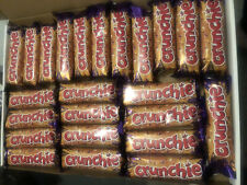 Cadbury Crunchie 24 Chocolate (26.1g) Bars Long Date Milk Cadbury Crunchie