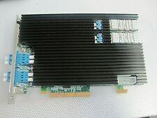 RIVERBED STEELHEAD NIC10G-2LR PCIe X4 CARD FIBER CARD P/N: 410-00301-01REV:1.6A