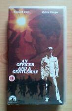An Officer And A Gentleman VHS Video