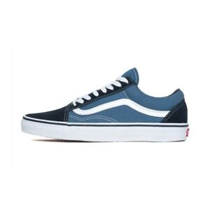 2020 Van s Old Skool Skate Shoes Black/White Classic Canvas Sneakers Trainers UK