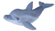 New Wild Republic 60cm Living Ocean Bottlenose Dolphin Cuddly Soft Toy Teddy