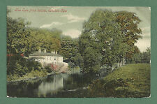 1906 POSTCARD THE SPA FROM BELOW, BOSTON SPA