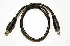 2ft. DC Barrel Plug 2.1mm x 5.5mm Male to Male Patch Cable for Brick  Pedals