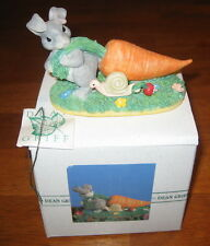Charming Tails Rabbit Tuggin' Two-some Carrot Mouse Figure Includes Box 87/362