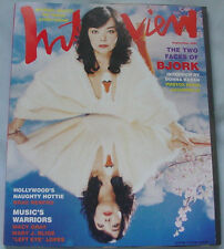 MAGAZINE ~ ANDY WARHOL'S INTERVIEW September 2001 - FASHION'S SEXY NEW WORLD
