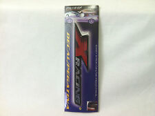 Stick-On X Racing Decal 3-D Emblem 3M Adhesive