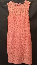 Cynthia Steffe Womens Peach Color Cotton Dress Fits Size 2-4