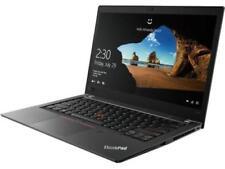 Lenovo ThinkPad T480s Laptop 14' FHD LCD i5-8250U 1.60GHz 8GB 256GB Webcam W10
