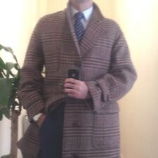 Polo Ralph Lauren coat overcoat glen plaid check pattern L
