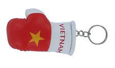 Keychain Mini boxing gloves key chain ring flag key ring cute vietnam