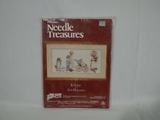 New listing Stitchery Needle Treasures Jana Hagara In Line 20X10 Cross Stitch Kit 00565 (4C1