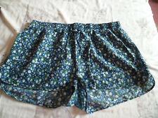 ladies size 18 Atmosphere blue/floral boho style shorts
