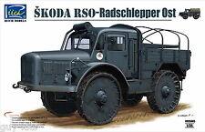 Tracteur lourd Allemand 4x4 SKODA RSO - KIT RIICH MODELS 1/35 N° 35005