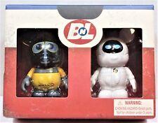 "Disney Vinylmation Wall-E & Eve 3"" Combo Set Limited Edition LE 500 NEW RARE HTF"