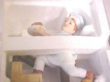 """Norman Rockwells 1980 """"Scotty Plays Chief"""" Collectors Statue still in styrofoam"""