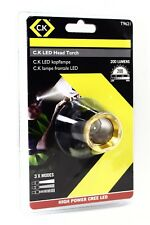 CK Tools T9621 LED Head Torch 200 Lumens High Power CREE Lamp Flashlight