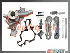 Fit 97-11 Ford 4.0L SOHC V6 Engine Timing Chain Gear Kit w/ Water Pump Set combo