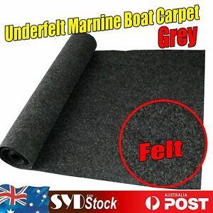 Boat Marine Carpet Cabin Deck Board Grey Felt Anti-slip Material 3.2M x 2M Roll