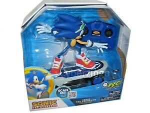 Sonic Free Rider Sonic The Hedgehog RC Skateboard Toy Remote Control New In Box
