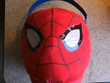 Spider-man Halloween Costume Easter Plush Basket Bag Bucket Jumbo