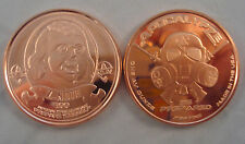Ben Franklin Z-Note 1 oz Copper Round Bullion Apocalypse Zombie Coin