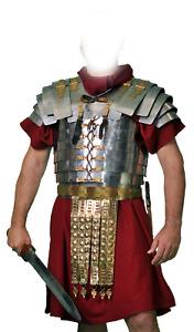 Medieval Roman Lorica Segmentata Pate Armor Chest Armour Chestplate Segmenta