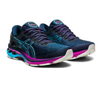 Asics Womens Gel-Kayano 27 Running Shoes Trainers Sneakers Navy Blue Sports