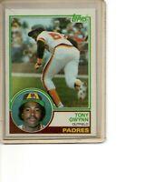 1983 Topps #482 Tony Gwynn Rookie Card San Diego Padres HOF SEE SCANS