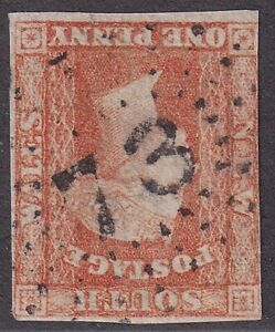 NSW numeral postmark 73(2) of WARIALDA  [rated 4R] Type 2R20