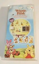 Disney Winnie the Pooh Self-Stick Room Appliques, 76 Stickers, Removable, NEW