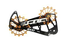 KCNC SXX1 MTB Bicycle Bike Oversized Pulley Cage OSPW for Sram Eagle X01 Gold