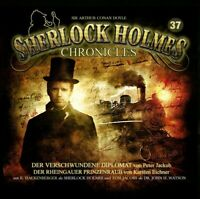 SHERLOCK HOLMES CHRONICLES - FOLGE 37: DER VERSCHWUNDENE DIPLOMAT/+   CD NEW