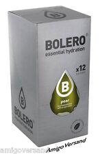 Bolero Drinks-PEAR (Lampada) - 12 bustine per 18-36 litri di bevanda rinfrescanti