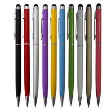 10x Touchpen Stylus Eingabestift Kugelschreiber Mix Farben Smartphone Tablet