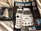 Dr Doctor Who Necros Dalek -Revelation Of The Daleks Eaglemoss Figurine 59 & Mag