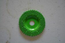 "Saburr Tooth FD270 Green 2"" Flat Grooving Wheel (Coarse Grit)"