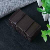 Miniatur Holz Koffer 1:12 Puppenhaus Mini-Koffer Aufbewahrungsbox Fast I6H5 E7Z7