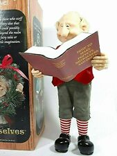 The Elves Themselves Zims Walter Collectible Christmas Elf Figure Vintage 1999